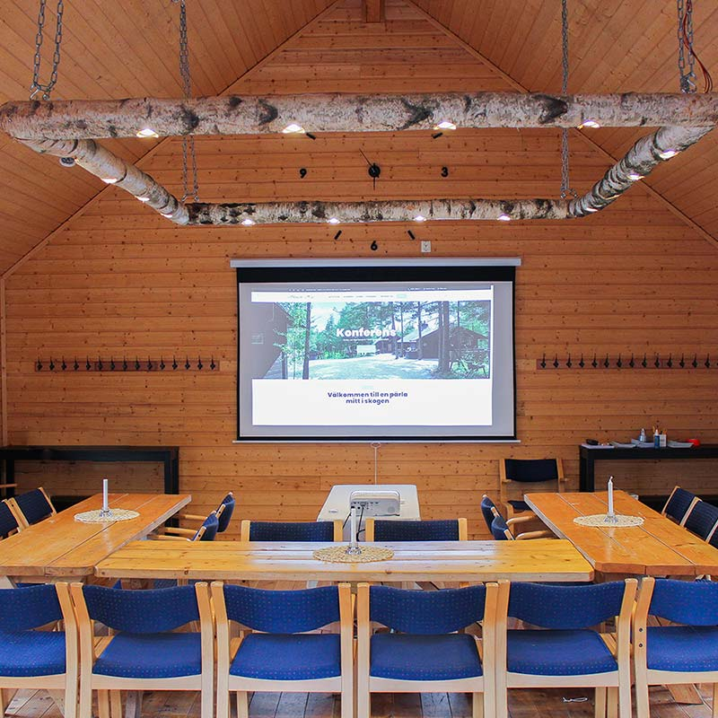 Fräscha konferenslokaler i Skogens Hus
