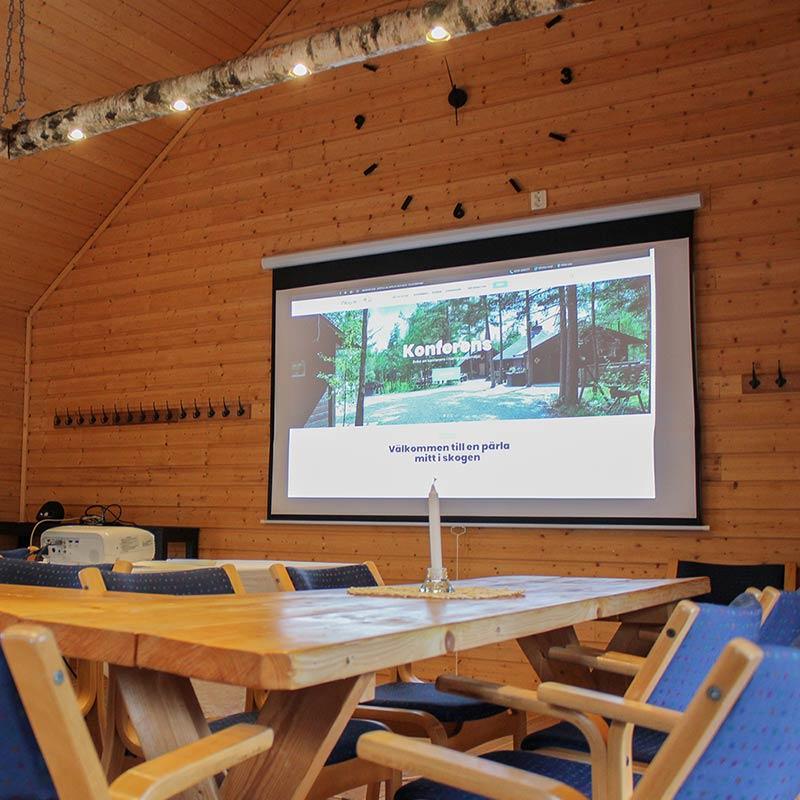 Unik konferenslokal i härlig skogsmiljö